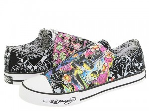 Ed Hardy's Tatoo Shoes