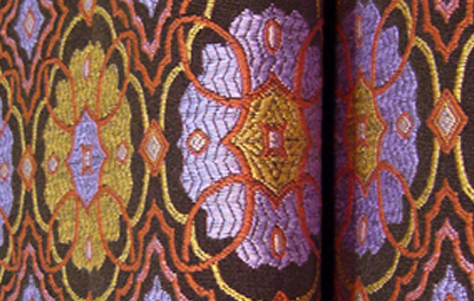 Bijoux. Designed and manufactured by Yoma Textiles.